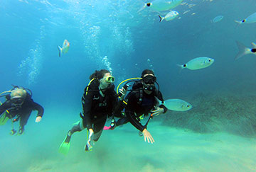 scuba diving - corfu excursions - corfu travel agency