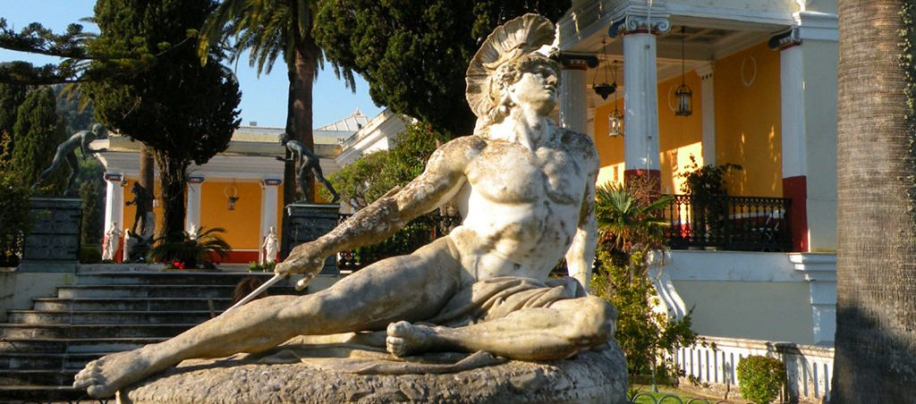 corfu history - corfu travel agency