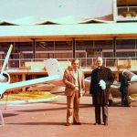 At Corfu airport 1980