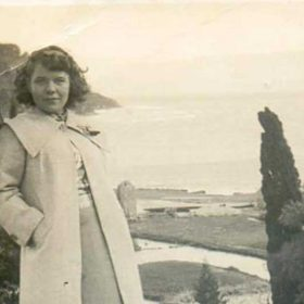 Margo Durrell in Corfu