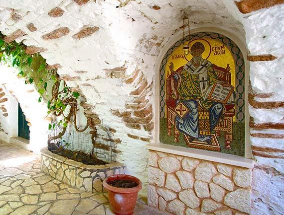 Paleokastritsa-Monastery-corfu-tourist-services