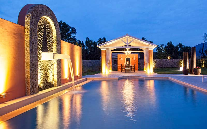 Villa-Lilly-Swimming-Pool-with-Night-Lights
