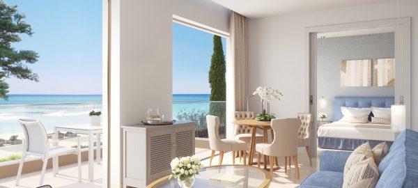 Deluxe-Two-Bedroom-Bungalow-Suite-Pool-view-ikos-dassia-corfu