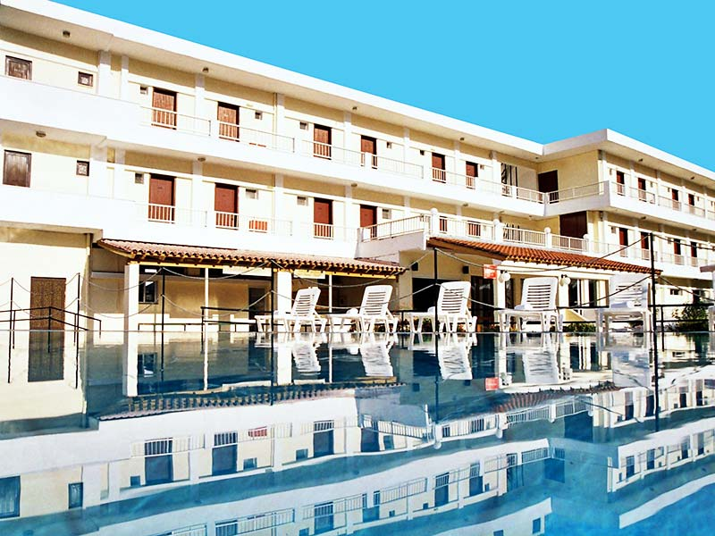 Hotel-Prassino-Nissi-Front-&-Pool-View-2