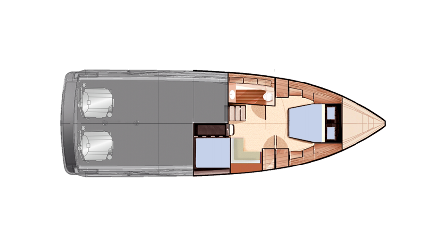 Fjord 40 Open layout